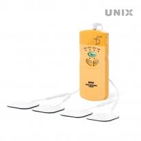 유닉스 저주파마사지기 자극기 진동안마기 UPM-801