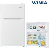위니아 소형냉장고 87리터 화이트 WRT087BW 2도어 기사방문설치