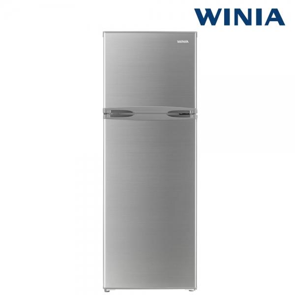 위니아 소형냉장고 실버 2도어 WRT182AS 기사방문설치 182리터