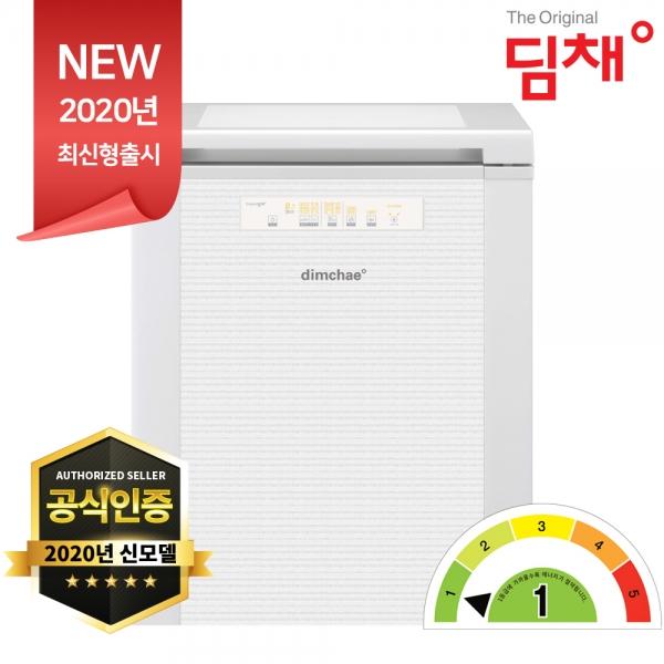 공식인증 딤채 소형 김치냉장고 120리터 EDL12CFTYW 폐가전수거 빠른설치