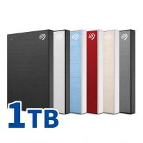 씨게이트 New Backup Plus Slim + Rescue 1TB 외장하드