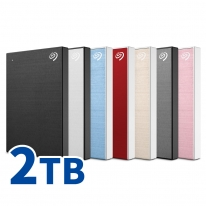 씨게이트 New Backup Plus Slim + Rescue 2TB 외장하드