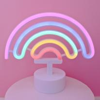 LED 네온사인 무지개 스탠드조명 무드등