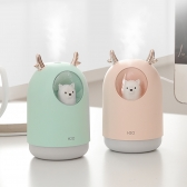 댕댕이 미니 가습기 무드등 USB 충전 가능 H20 4종