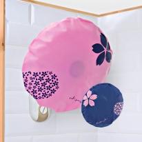 키친아트 부직포 벽걸이 선풍기커버 2color