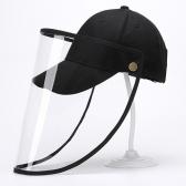 방역마스크모자 투명 캡 모자 우레탄모자 방역모자