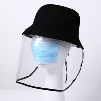 방역마스크 투명 벙거지 캡모자 비닐모자 우레탄모자
