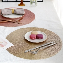 보르티체 원형 테이블매트 식탁매트 러너 테이블깔개