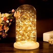LED 유리돔 무드등 (특대형) 부케조명 유리 전구조명