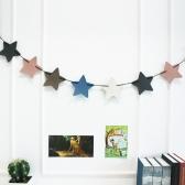 가죽 가랜드 (별) 벽장식 카페 아이방꾸미기