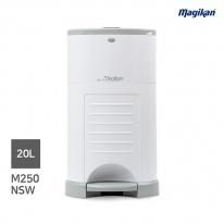 [무료배송] 매직캔 가정용 무소음 20L 휴지통 M250NSW (화이트)