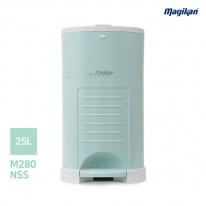 [무료배송] 매직캔 가정용 무소음 25L 휴지통 M280NSM (민트)