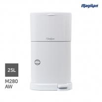 [무료배송] 매직캔 가정용 무소음 25L 휴지통 M280A (A형_화이트)