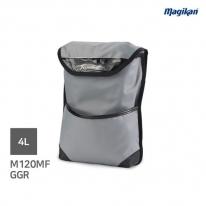 매직캔 M120MFGGR 프라다천_4L 모터메이드 차량용 휴지통