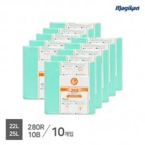 [무료배송] 매직캔 정품 전용 리필 22,25,27L 280R10B (M280시리즈_10개입)