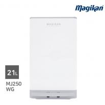 [무료배송] 매직캔 스텔라 21L 휴지통 MJ250WG (화이트+그레이)