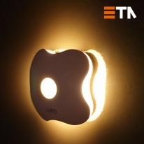 에타 무선 LED 센서등 2종 (충전식/건전지식)