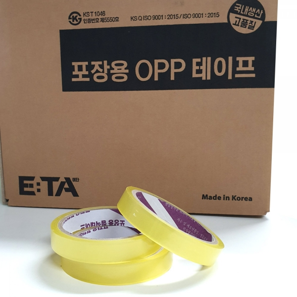 에타 국산 포장 테이프 스카치테이프 16mm