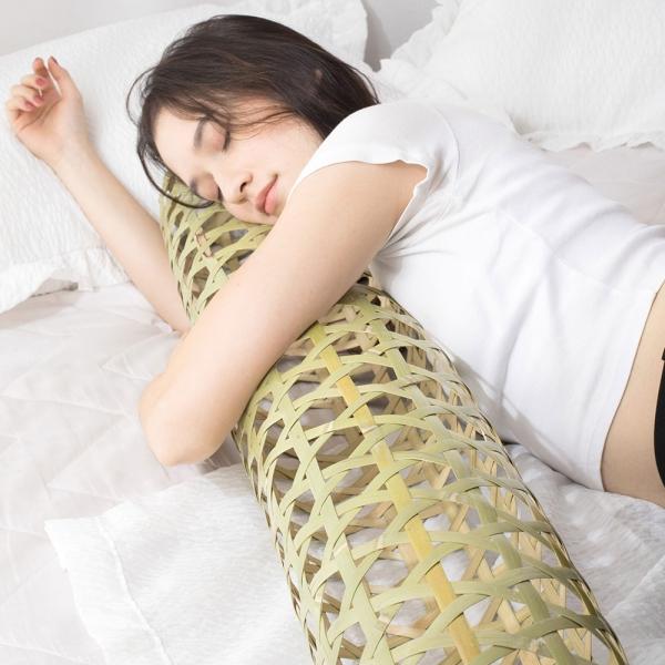 리빙몽드 대나무죽부인 쿨베개