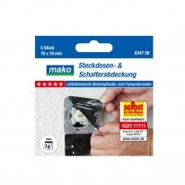 마코 플러그 스위치 보호용 마스킹 테이프