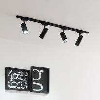 LED 자이로 COB 10w 레일 조명 1M 세트