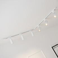 LED 자이로 COB 10w ㄱ자 레일 조명 2M 세트