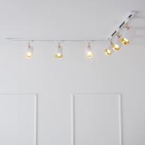LED 히트 COB 5w ㄱ자 레일 조명 2M 세트