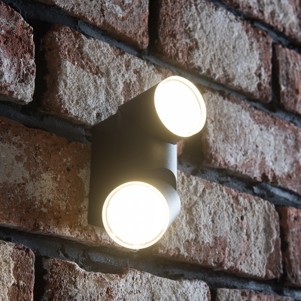 LED 비노 2등 벽등 10W