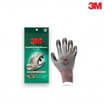 3M 안전 작업 장갑 컴포트그립 회색 S,M,L,XL