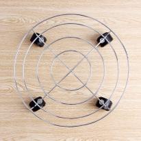 스텐 이동식 받침대(34cm)/화분받침대 화분진열대