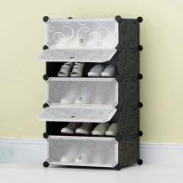 라이프 도어형 신발장(5단)/DIY 조립식 신발수납장