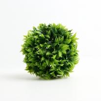 인테리어 녹색 인조 잔디볼(12cm)