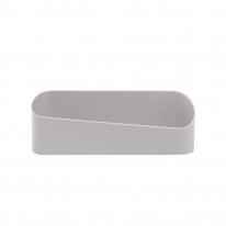 리빙홈 일자 욕실 선반(그레이)