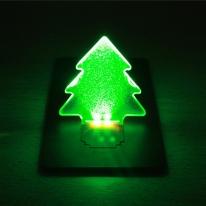 LED 미니트리 카드 무드등
