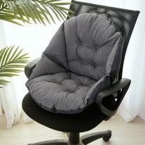 쿠지 의자 등받이방석(그레이)