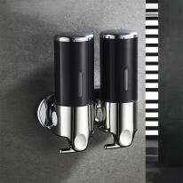 홈스토리 물비누 디스펜서 2구(450ml) (블랙)