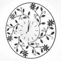플라워가든 크리스탈 벽시계(50cm)