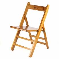대나무 접이식 의자