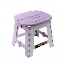 스툴스 타원 접이식 의자(퍼플) (S)