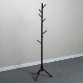 나인 원목 스탠드 옷걸이(175cm) (다크브라운)