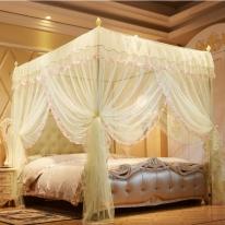 팰리스 사각 커튼형 침대 모기장(180x200cm)