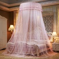 하늘하늘 침대 캐노피 모기장(연핑크)