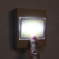 LED 스위치 벽부착등(브라운)