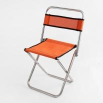 캠프 접이식 등받이 레저의자(오렌지)