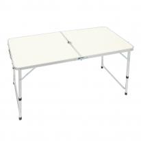 높이조절 접이식 캠핑테이블(화이트)