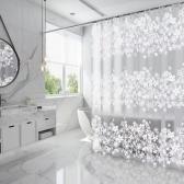 홈스토리 꽃무늬 샤워커튼(180x200cm)