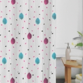 홈트리 빗방울 샤워커튼(180x180cm)