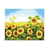 [ALB] DIY유화그리기 해바라기꽃밭 [a40_45]