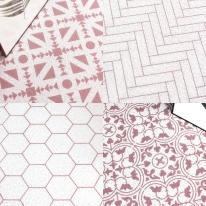 멜리사 패턴 코일매트 (현관/베란다/발코니/세탁실 매트)
