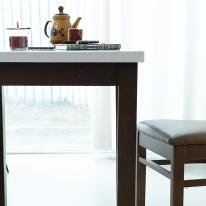 캘빈모카 대리석 2인식탁(단품)